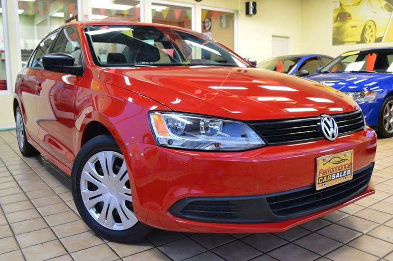 2012 Volkswagen Jetta for sale at Performance car sales in Joliet IL