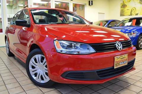 2012 Volkswagen Jetta for sale at Performance car sales in Joliet IL