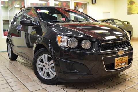 2015 Chevrolet Sonic for sale at Performance car sales in Joliet IL