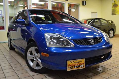 2004 Honda Civic for sale at Performance car sales in Joliet IL