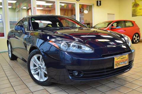 2008 Hyundai Tiburon for sale at Performance car sales in Joliet IL
