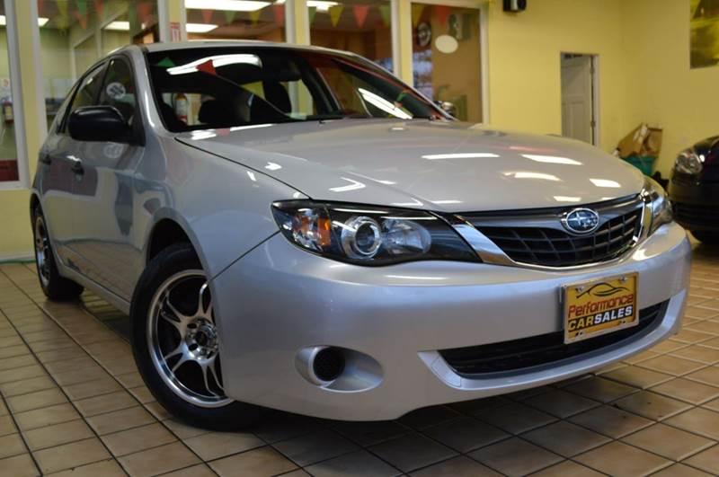 2008 Subaru Impreza for sale at Performance car sales in Joliet IL