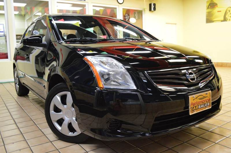 2010 Nissan Sentra for sale at Performance car sales in Joliet IL