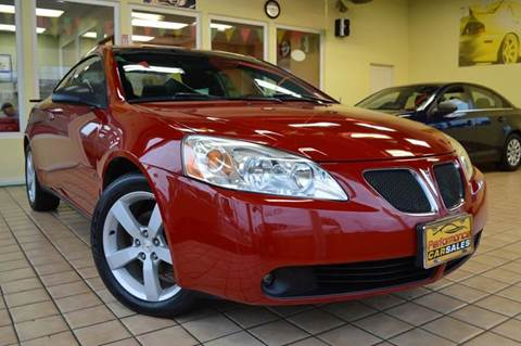 2007 Pontiac G6 for sale at Performance car sales in Joliet IL