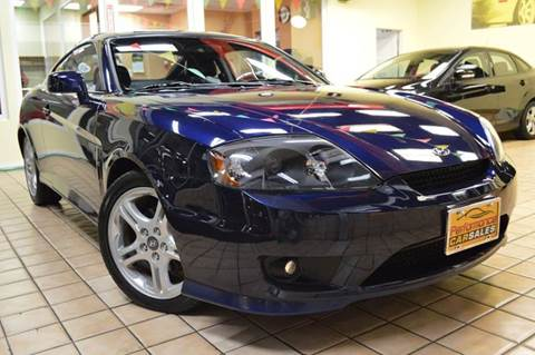 2006 Hyundai Tiburon for sale at Performance car sales in Joliet IL