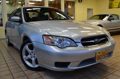 2006 Subaru Legacy for sale at Performance car sales in Joliet IL