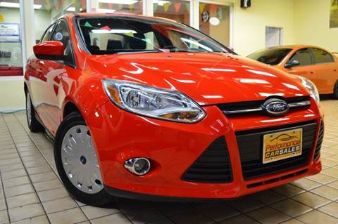 2012 Ford Focus for sale at Performance car sales in Joliet IL