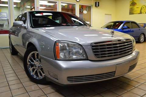 2005 Cadillac DeVille for sale at Performance car sales in Joliet IL