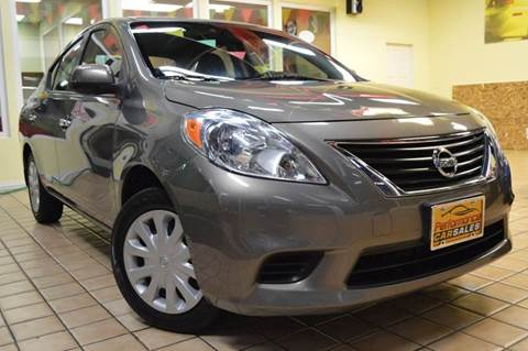2012 Nissan Versa for sale at Performance car sales in Joliet IL