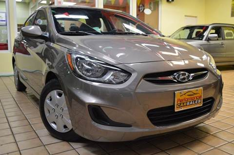 2013 Hyundai Accent for sale at Performance car sales in Joliet IL