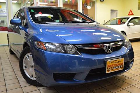 2009 Honda Civic for sale at Performance car sales in Joliet IL
