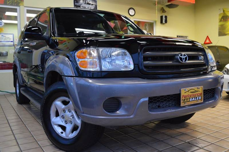 2001 Toyota Sequoia for sale at Performance car sales in Joliet IL