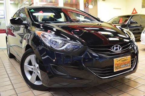 2013 Hyundai Elantra for sale at Performance car sales in Joliet IL
