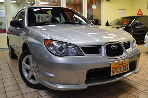 2006 Subaru Impreza for sale at Performance car sales in Joliet IL