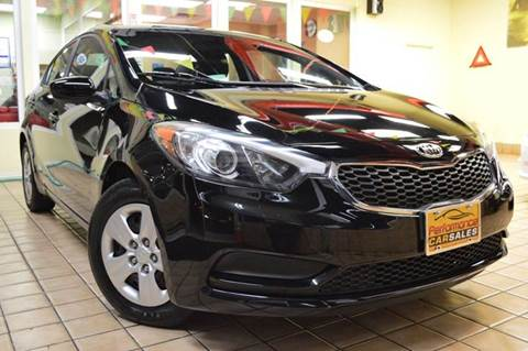 2014 Kia Forte for sale at Performance car sales in Joliet IL