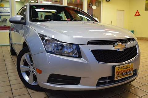 2012 Chevrolet Cruze for sale at Performance car sales in Joliet IL