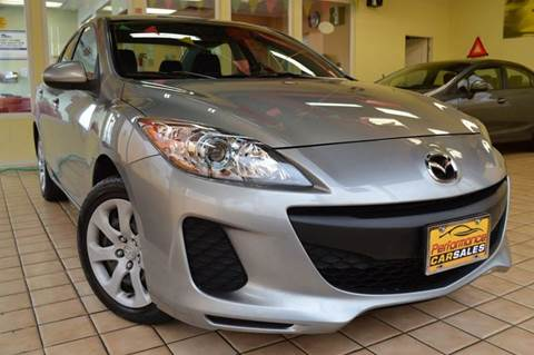 2013 Mazda MAZDA3 for sale at Performance car sales in Joliet IL