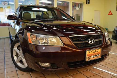 2006 Hyundai Sonata for sale at Performance car sales in Joliet IL