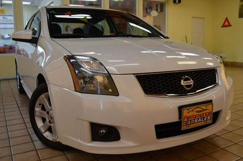 2012 Nissan Sentra for sale at Performance car sales in Joliet IL
