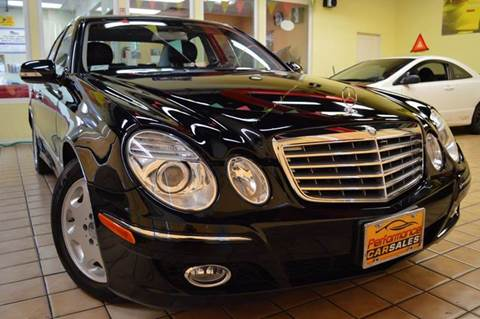 2008 Mercedes-Benz E-Class for sale at Performance car sales in Joliet IL