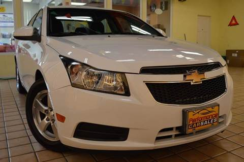 2013 Chevrolet Cruze for sale at Performance car sales in Joliet IL