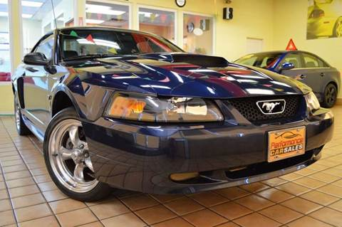 2002 Ford Mustang for sale at Performance car sales in Joliet IL