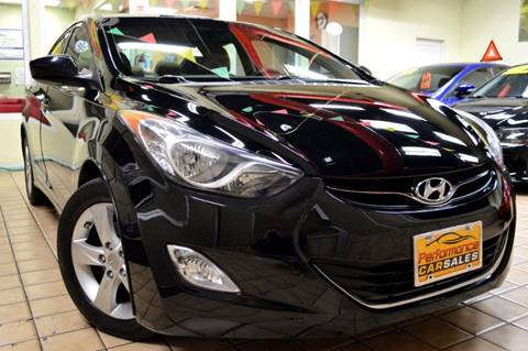 2013 Hyundai Elantra for sale at Performance Car Sales in River Grove IL