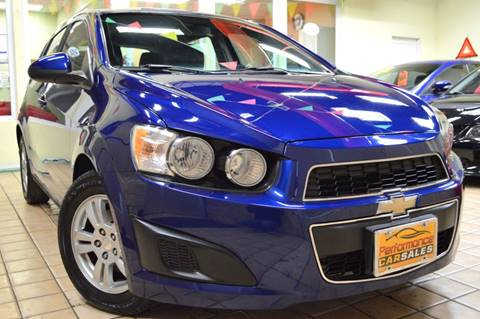 2012 Chevrolet Sonic for sale at Performance Car Sales in River Grove IL