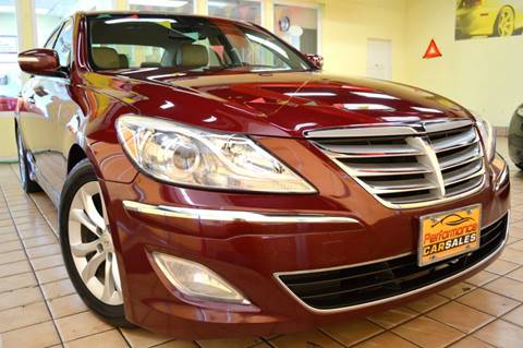 2013 Hyundai Genesis for sale at Performance Car Sales in River Grove IL