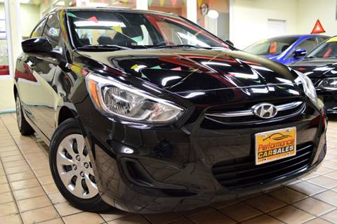 2015 Hyundai Accent for sale at Performance Car Sales in River Grove IL