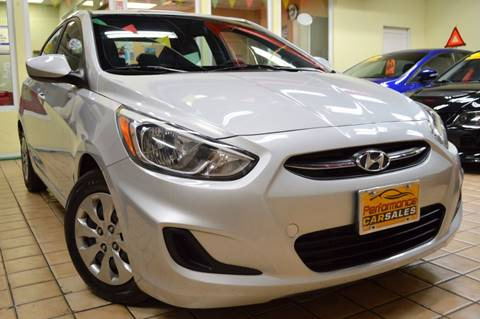 2016 Hyundai Accent for sale at Performance Car Sales in River Grove IL