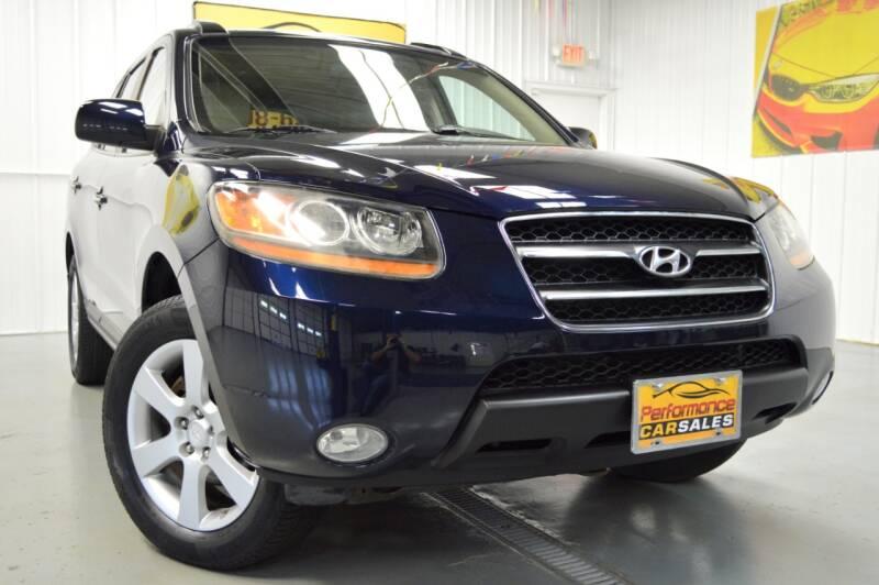 2008 Hyundai Santa Fe for sale at Performance car sales in Joliet IL