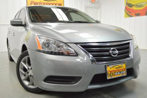 2013 Nissan Sentra for sale at Performance car sales in Joliet IL