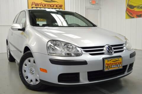 2009 Volkswagen Rabbit for sale at Performance car sales in Joliet IL