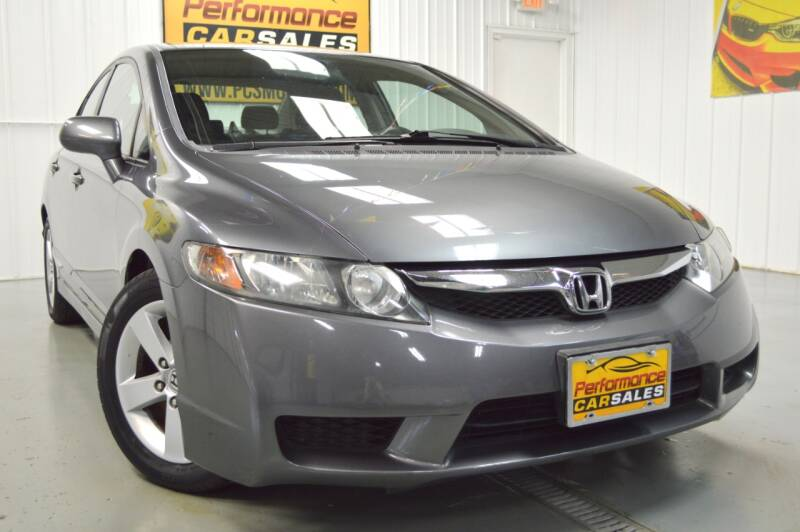 2010 Honda Civic for sale at Performance car sales in Joliet IL