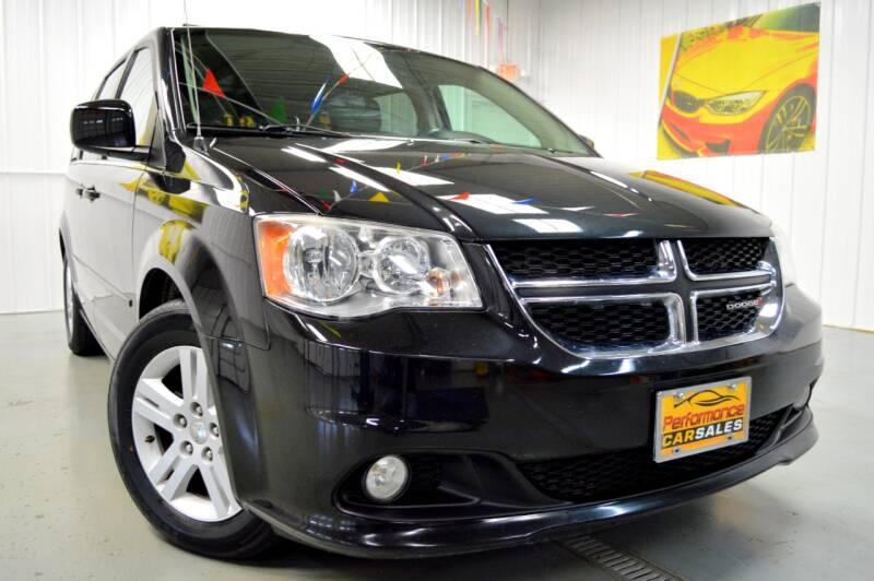 2013 Dodge Grand Caravan for sale at Performance car sales in Joliet IL