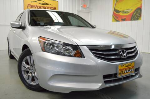 2012 Honda Accord for sale at Performance car sales in Joliet IL