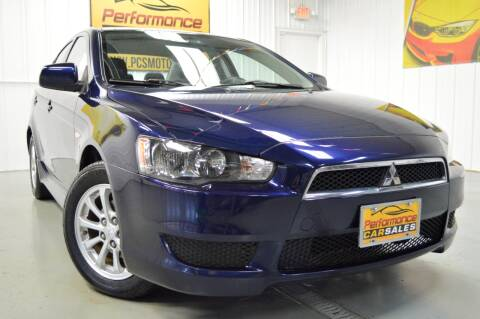 2014 Mitsubishi Lancer for sale at Performance car sales in Joliet IL