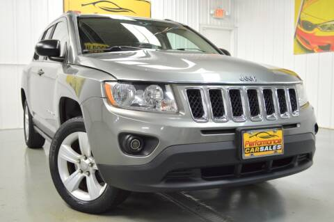 2012 Jeep Compass for sale at Performance car sales in Joliet IL