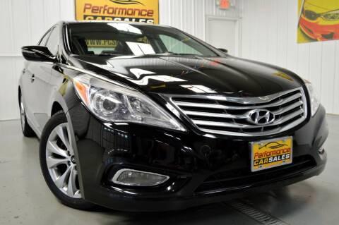 2014 Hyundai Azera for sale at Performance car sales in Joliet IL