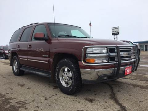 2000 Chevrolet Tahoe For Sale In Rolla ND