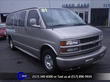 2001 Chevrolet Express Passenger for sale in Okemos, MI