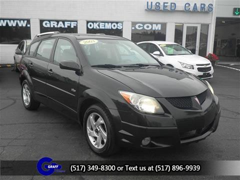2003 Pontiac Vibe for sale in Okemos, MI