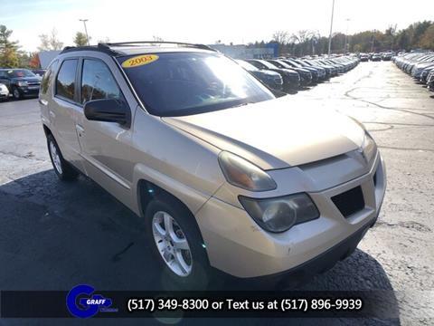 2003 Pontiac Aztek for sale in Okemos, MI