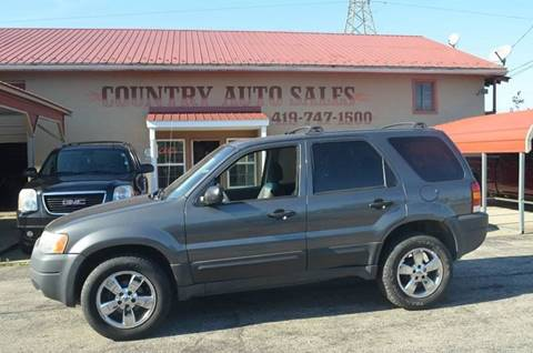 2004 Ford Escape for sale in Mansfield, OH