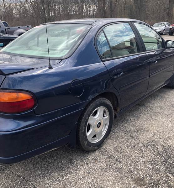 2001 Chevrolet Malibu LS 4dr Sedan In Mansfield OH