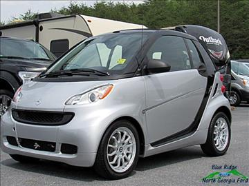 2012 Smart fortwo for sale in Blue Ridge, GA