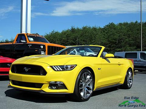 ford mustang for sale in blue ridge ga. Black Bedroom Furniture Sets. Home Design Ideas