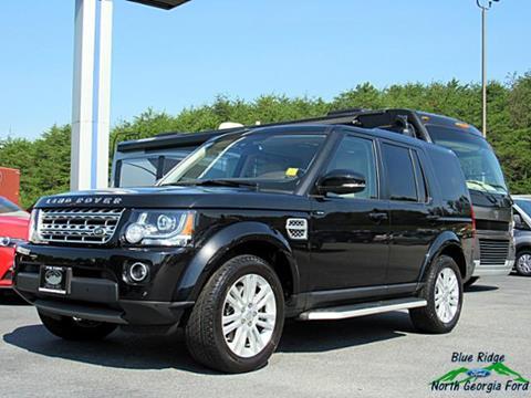 2015 Land Rover LR4 for sale in Blue Ridge, GA