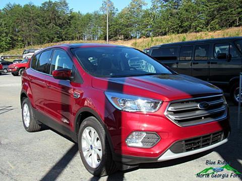 2017 Ford Escape for sale in Blue Ridge, GA